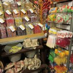 Candy temptations in the general store - three bags for $5