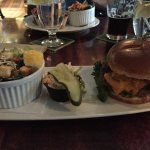 The County Burger at the Barley Room
