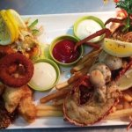 Seafood Platter with crayfish