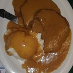 Meatloaf & Mashed Potatoes and Gravy
