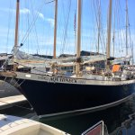 The Aquidneck prior to sailing