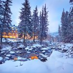 Vail Cascade Exterior Winter Gore Creek