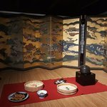 Japanese room setting in edo period