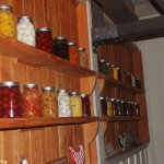 canned foods display