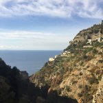 Even from the water, Tenuta La Picola is stunning perched over the cliff!