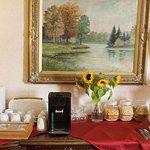 Mikrowelle, Kaffee, Tee, Müsli für alle Gästen kostenlos