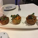 - Stuffed Green Plantain Cups / Tostones relents (mix)