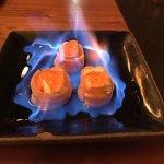 Sushi flambado