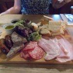 Meat platter (yum)