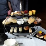 afternoon tea with the additional items for gents