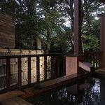 京:露天風呂夜景