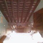 Vista de la zona de dormitorio en la planta superior del duplex