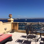 This was our terrace and view. It looks like a holiday advert.
