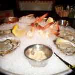 blue point oysters and shrimp appetizer