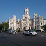 Plaza de Cibeles (inicio del paseo del Prado)