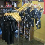 Some of our Leather Goods For Sale in General Store