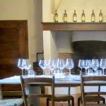 Tasting room at the Enoteca.