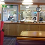 Cafe area on the ferry