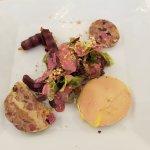 foie gras et nems de canard