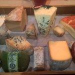 Le fameux plateau de fromages