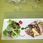 Sardines grillées sur pain