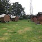 Cowboy wagons/huts