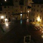 Piazza Cisterna at night