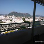View of Sajjangarh from roof top