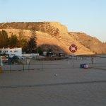 Tranquility at the eastern end of Praia da Luz