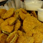 Fried dill pickles - delicious