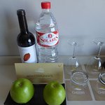 Complimentary refreshments on arrival in addition to tea/coffee making facilities.
