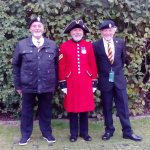 I am the fat bloke, all three of us are almost 70.