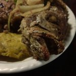 Pargo, patacopes & 'rice and beans' (coconut infused)