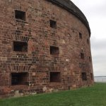 Castle Williams, a circular fort that has served as a guardian of New York Harbor since 1807