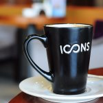 Icons coffee