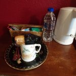 In-room amenities - tea and a treat