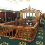 Inside Salon Deck of Steamship