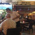 Loveliest waiter Gab aka Manuel.