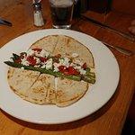 Greek grilled Asparagus appetizer