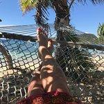 Chillin' in the hammock.