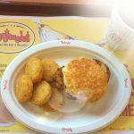 Pork Chop Biscuits are back! 2 for only $4!