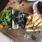 Escargot in a bone with marrow - DELICIOUS!