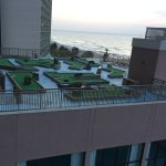 New and improved roof-top ocean front putt putt