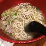 Pickled Cabbage Pork Noodles Soup