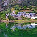 Lanuza, precioso pueblo del valle de Terna.
