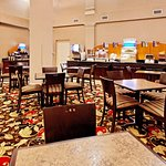 Holiday Inn Express & Suites Crestview- complimentary breakfast.