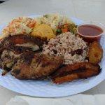 Jerk Chicken platter
