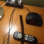 Alarm clock cord