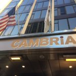 Stunning entrance at Cambria Hotel & Suites.