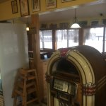 Juke box & dining room.